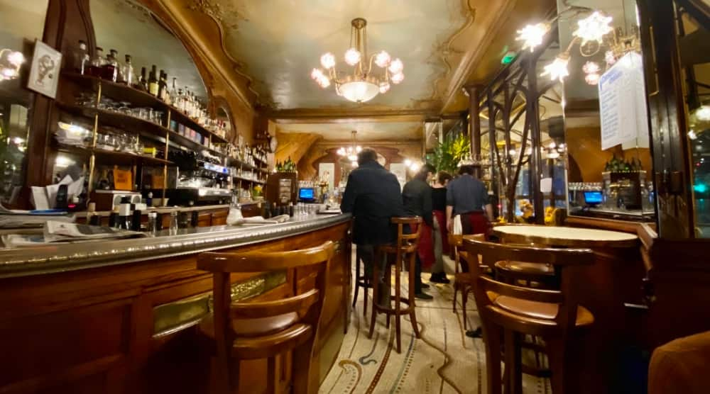 Wijnroadtrip Parijs Bistro du Peintre