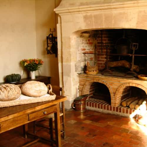 Kasteel van Villandry keuken