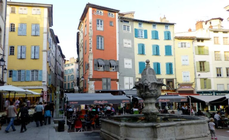 Le Puy-en-Velay centrum