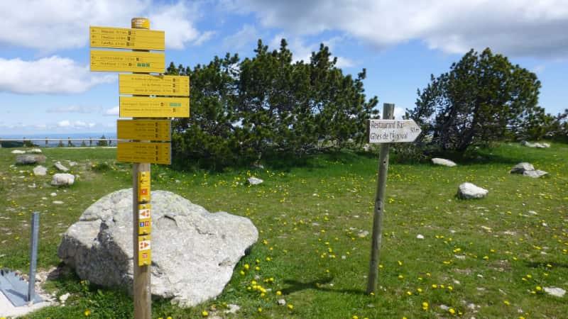 Wandelen bij Montaigoual