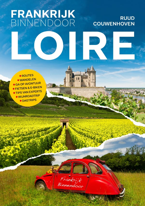 Nieuw! Het boek Loire van Frankrijk Binnendoor
