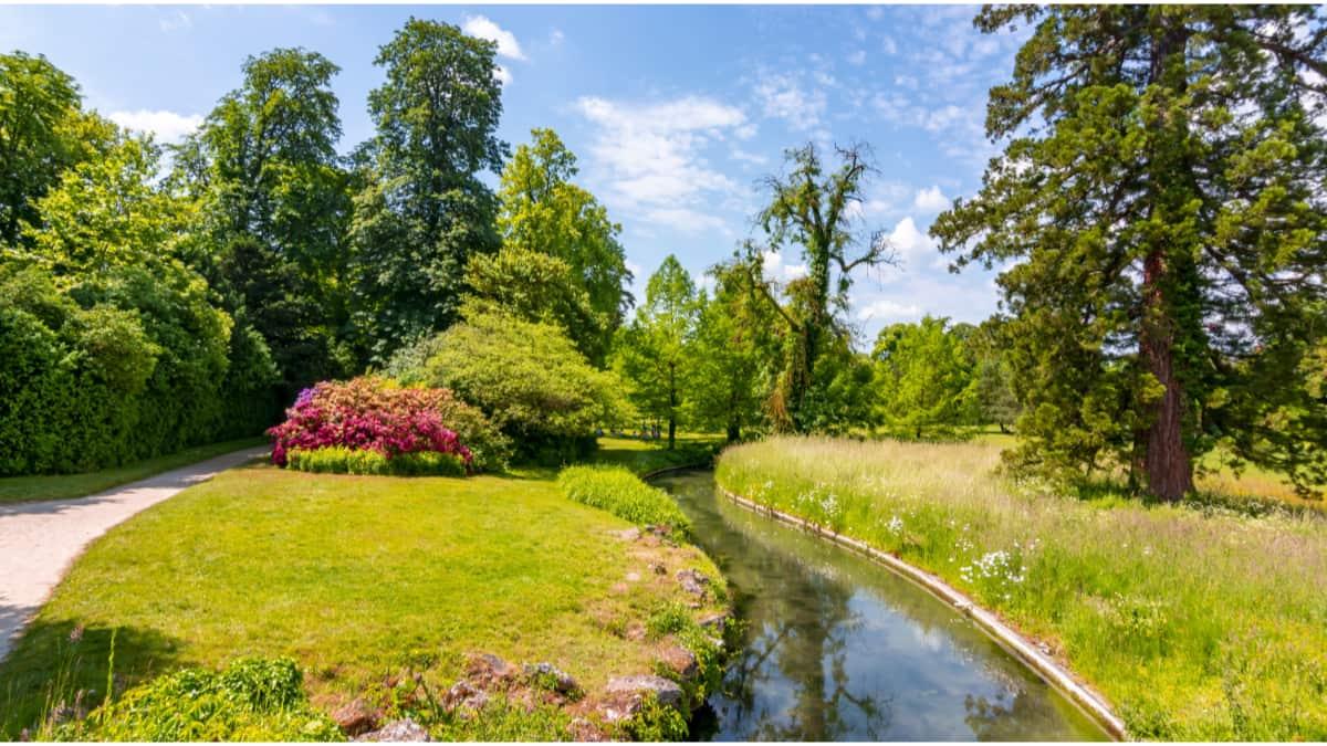 De tuinen van het Château de Fontainebleau