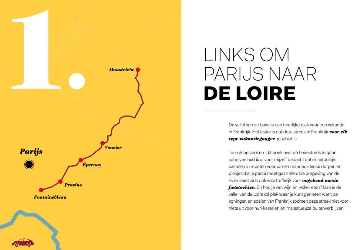 Links om Parijs naar de Loire
