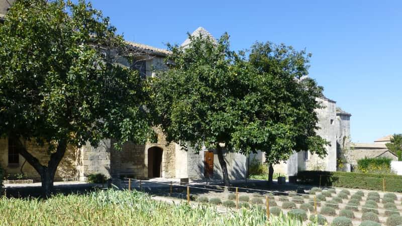Prieuré de Saint-Paul-de-Mausole in Saint-Rémy-de-Provence