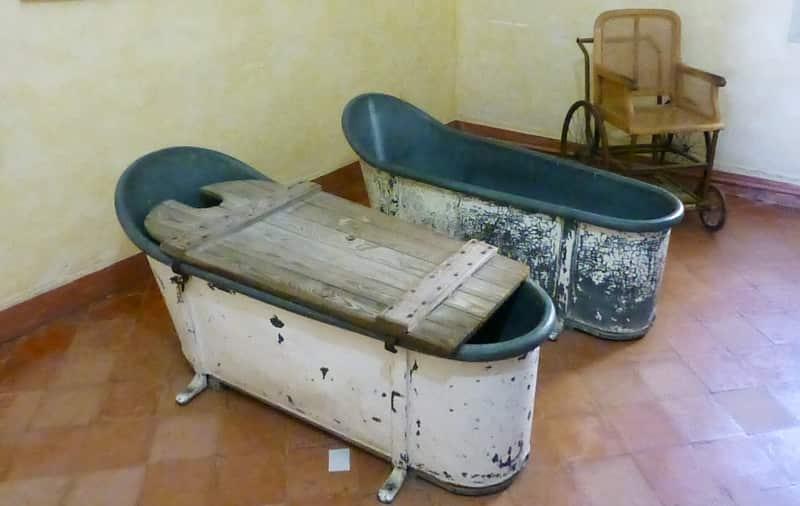 de badkuip van Vincent van Gogh