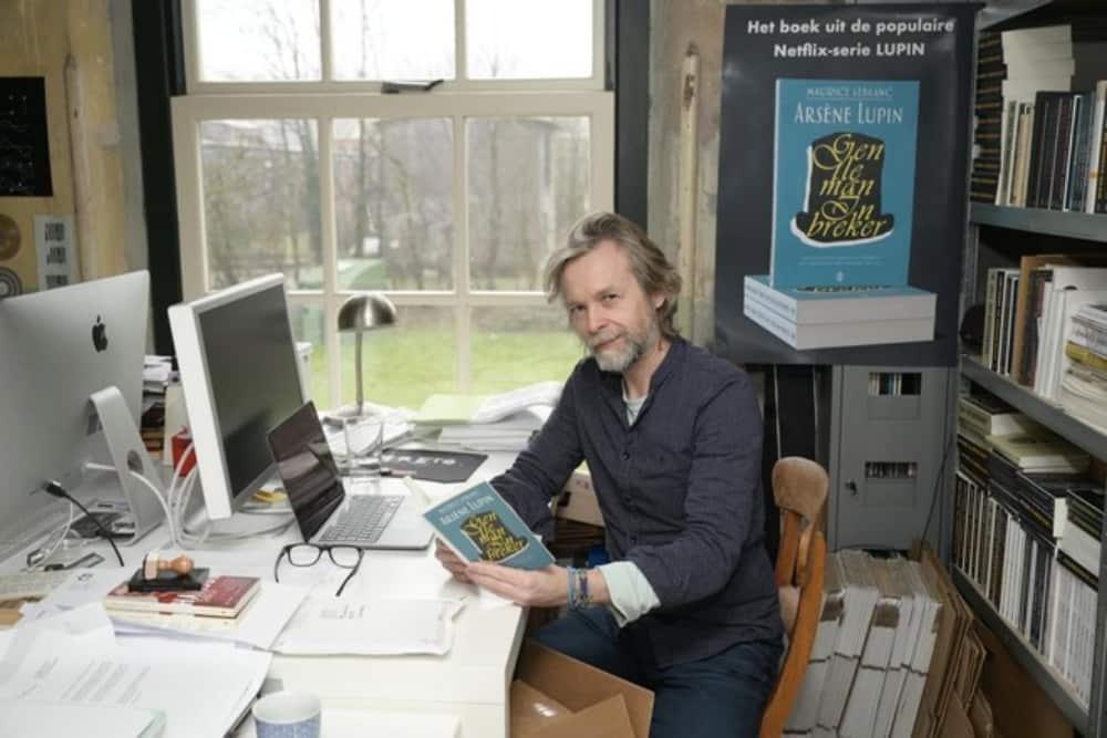 Martijn Couwenhoven, uitgeverij Oevers en de boek van Lupin