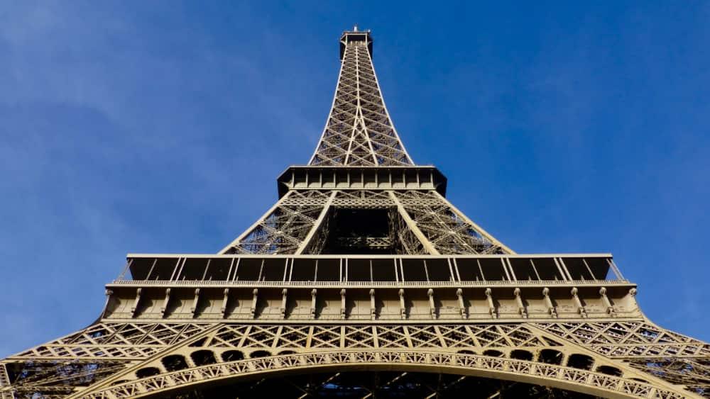 Eiffeltoren en andere bezienswaardigheden in Parijs
