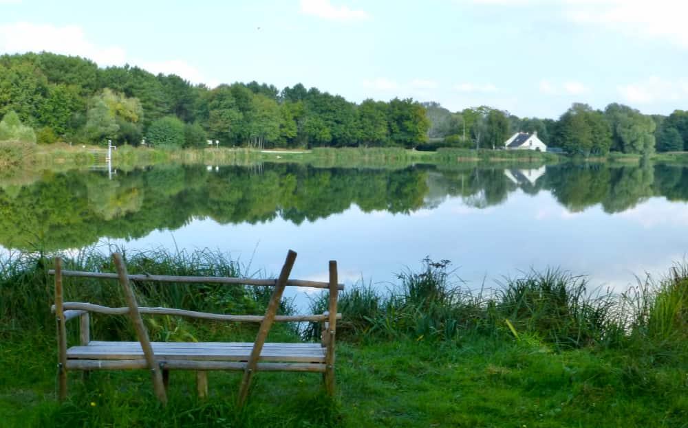 Fietsen bij de Loire, Lac de Rillé