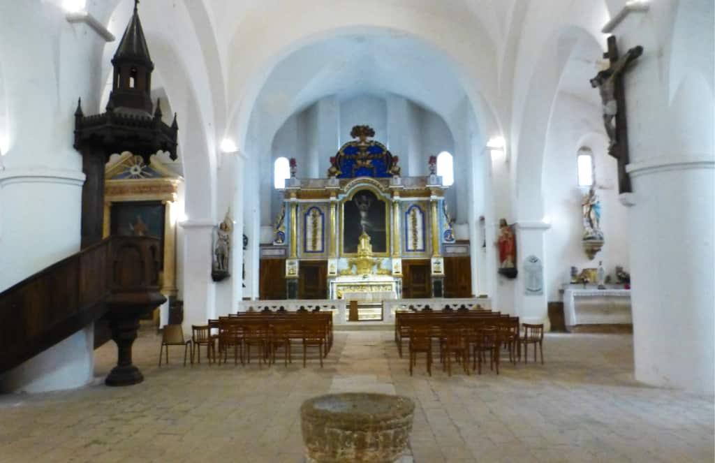 L'église Saint-Aignan Bélaye