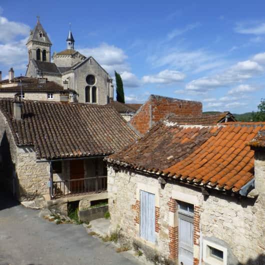 Middeleeuwse huizen Luzech