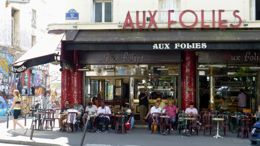 Parijs met een vriendengroep