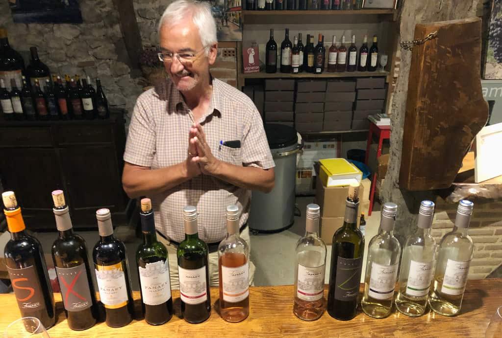 Wijn proeven in de Lot